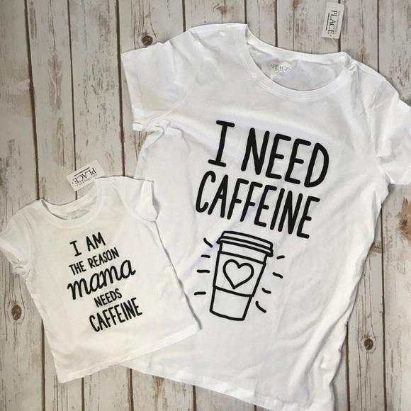 b82e9fba55ed9e The Children's Place Tops | Mom Baby Matching Shirts Set | Poshmark